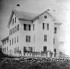 Photo of the original Whitney Hall
